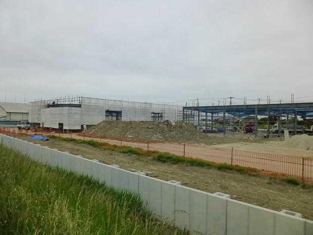 埼玉東 新倉庫を建設中です。